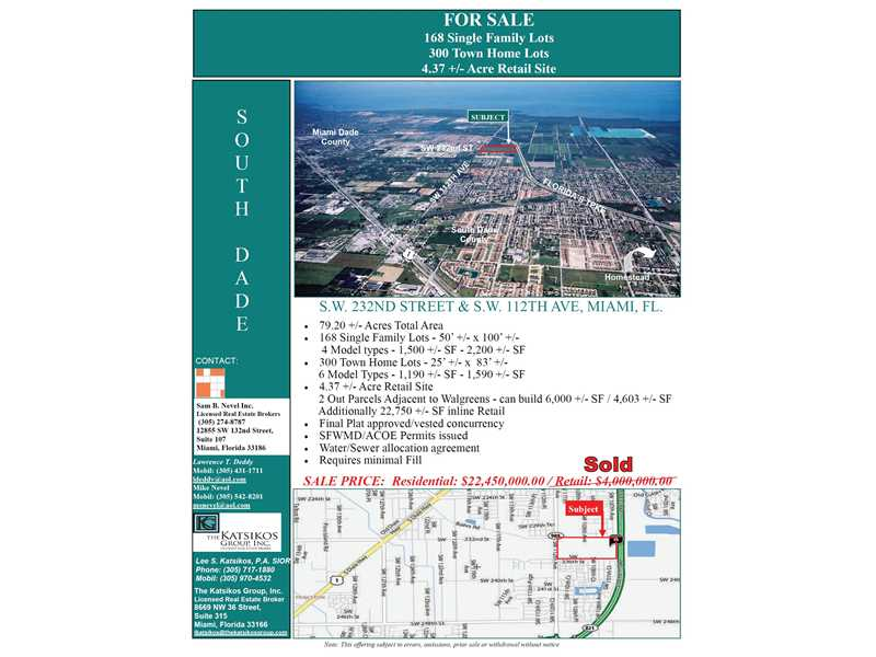 Real Estate for Sale, ListingId: 28764606, Miami,FL33190
