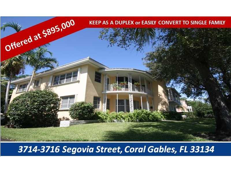3714 Segovia St, Coral Gables, FL 33134