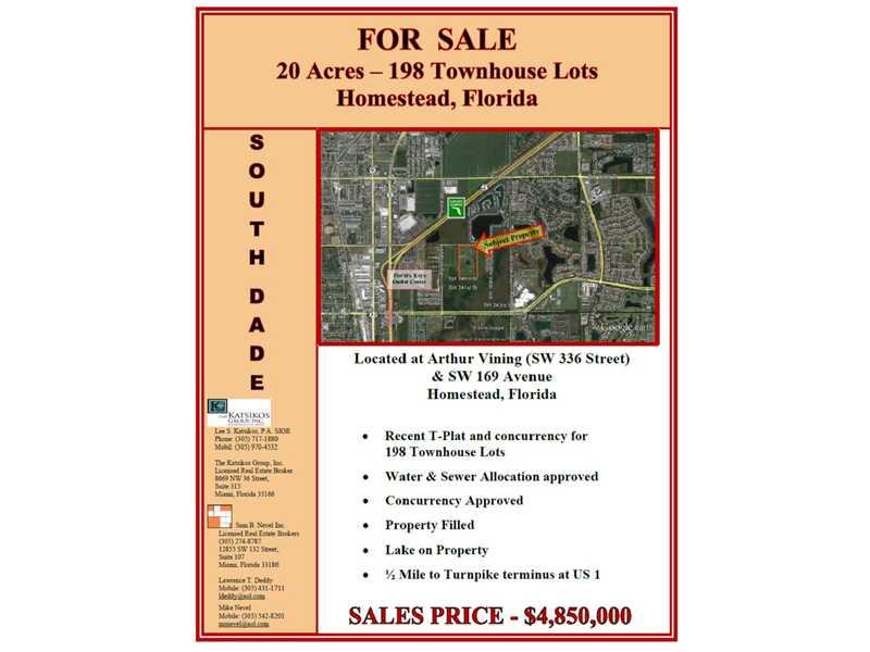 Real Estate for Sale, ListingId: 30001184, Homestead,FL33034