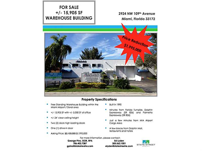 Real Estate for Sale, ListingId: 30115114, Doral,FL33172