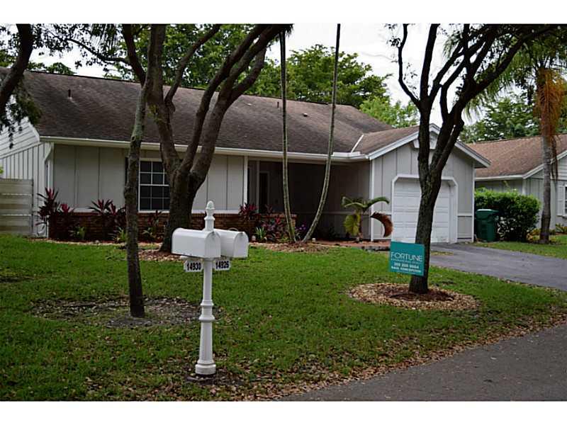 14926 Sw 141st Pl, Miami, FL 33186