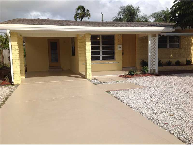 Rental Homes for Rent, ListingId:30938451, location: 71 NE 45TH CT Ft Lauderdale 33334
