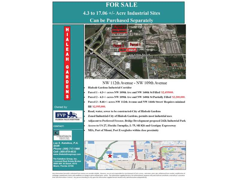 Real Estate for Sale, ListingId: 31008533, Hialeah Gardens,FL33018