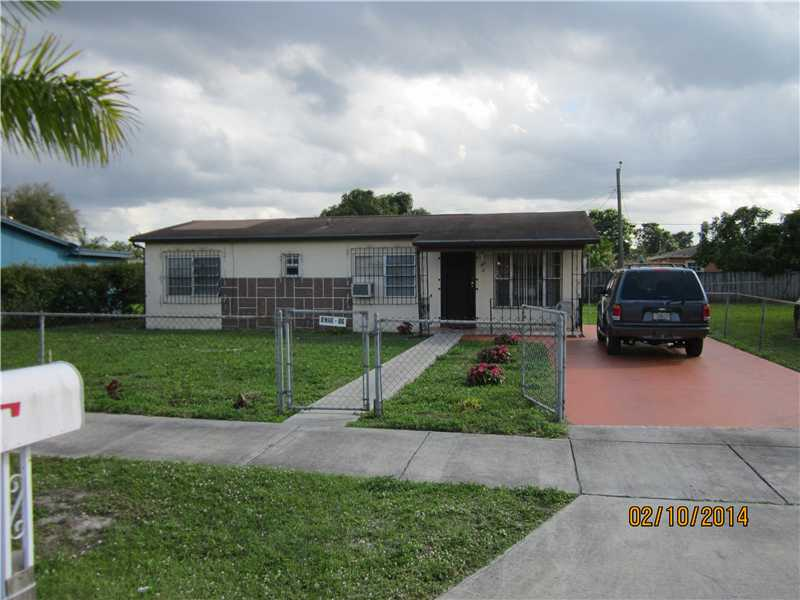 Rental Homes for Rent, ListingId:34579087, location: 800 CURTISS DR Opa Locka 33054