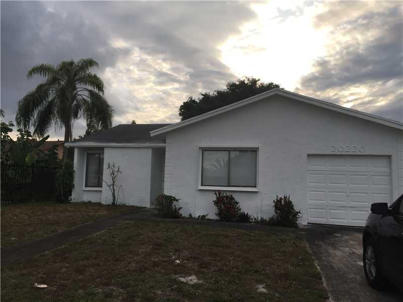 Rental Homes for Rent, ListingId:32973232, location: 20220 NW 33 CT Miami Gardens 33056