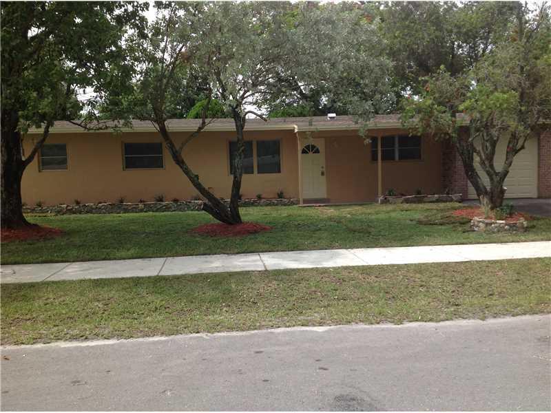 Rental Homes for Rent, ListingId:34286488, location: 1070 Northwest 43 ST Oakland Park 33309