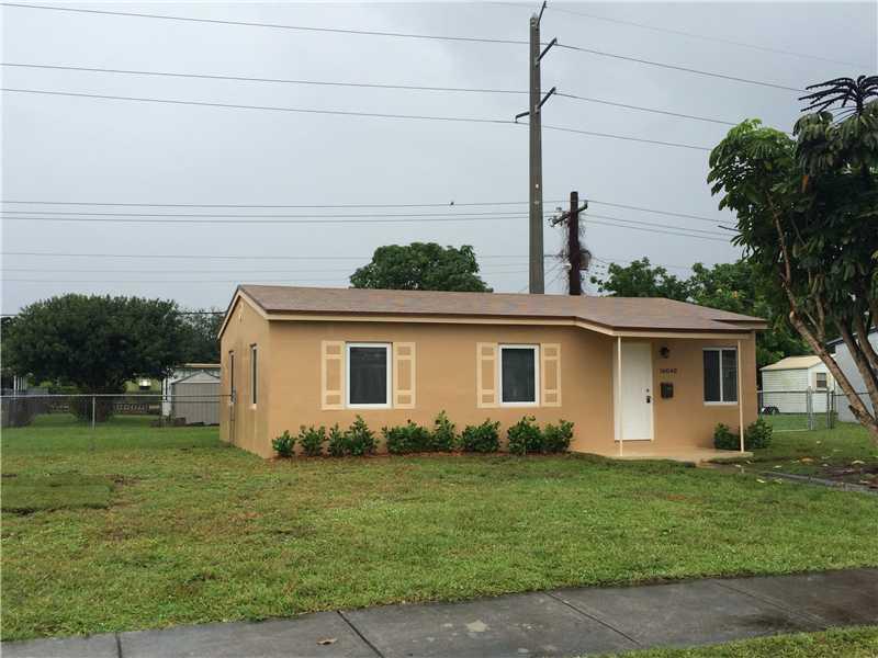 Rental Homes for Rent, ListingId:34573338, location: 16040 Northwest 18 PL Miami Gardens 33054
