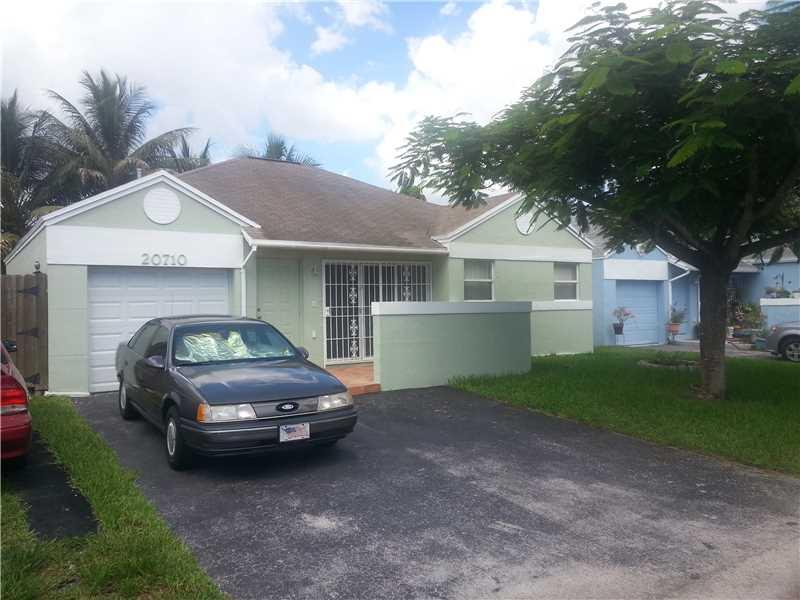 Rental Homes for Rent, ListingId:34852844, location: 20710 Southwest 105 AV Cutler Bay 33189