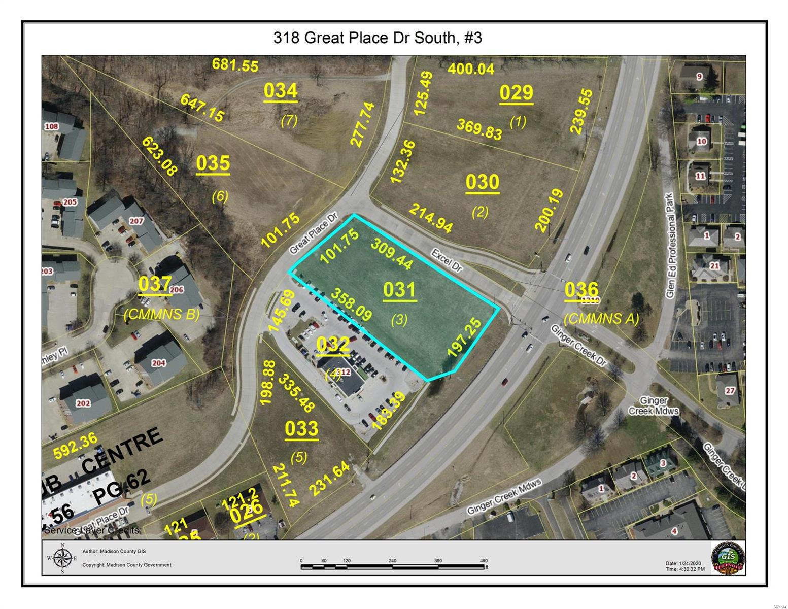 primary photo for 318 Great Place Dr, Lot 3, Edwardsville, IL 62025, US