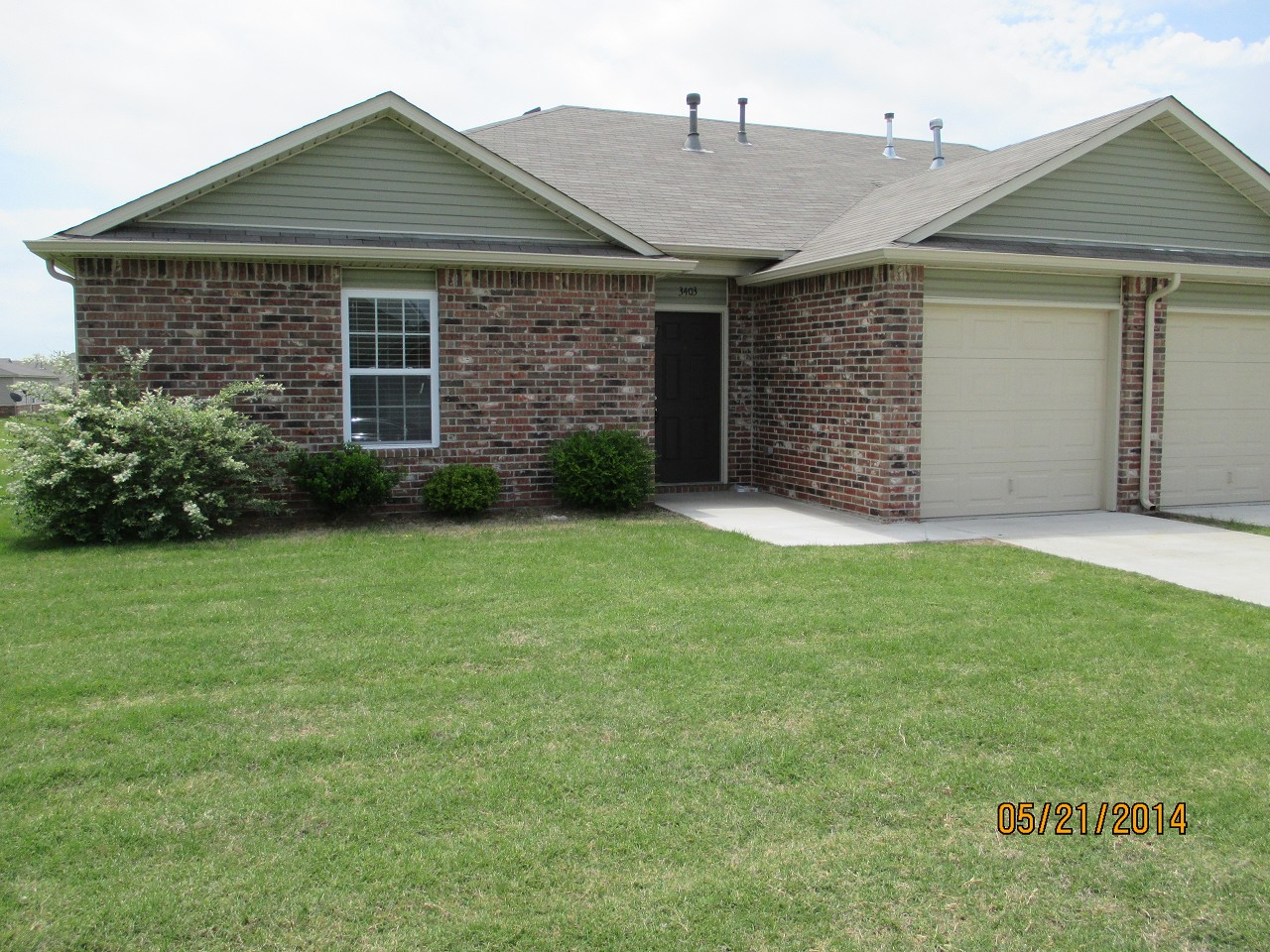Single Family Home for Sale, ListingId:28569609, location: 3403 E Irvington Place Broken Arrow 74014
