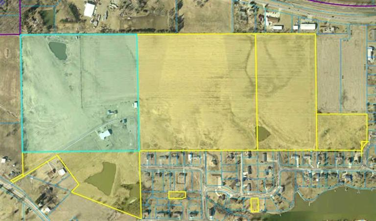 94 acres in Knoxville, Iowa