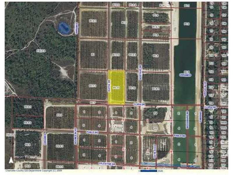 4.57 acres in Punta Gorda, Florida