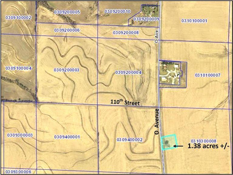 Image of Acreage for Sale near Elliott, Iowa, in Montgomery county: 1.38 acres