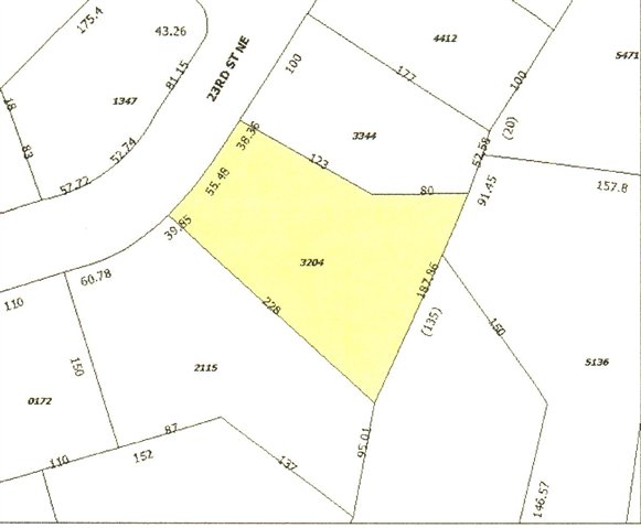 Land for Sale, ListingId:25767737, location: 3244 23RD ST NE Hickory 28601