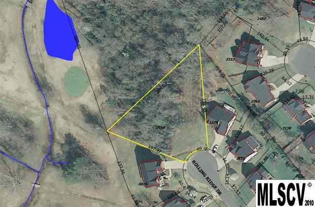 Land for Sale, ListingId:23522527, location: 2634 ROLLING RIDGE DR Hickory 28602
