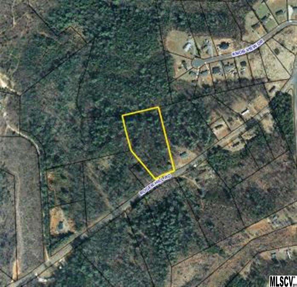 14.85 acres in Connelly Springs, North Carolina