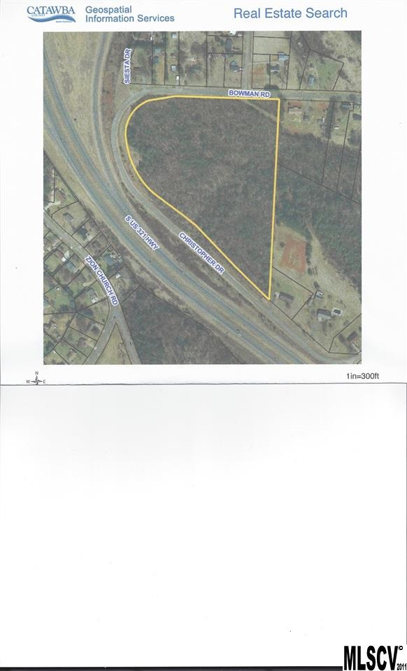 15.69 acres in Hickory, North Carolina