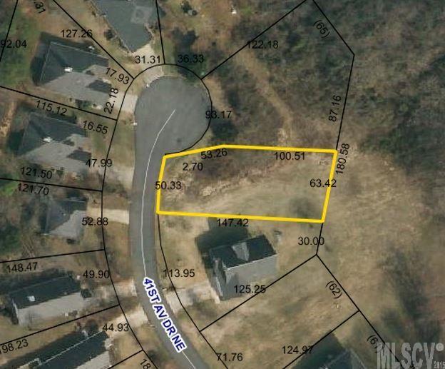 Land for Sale, ListingId:34972165, location: 729 41ST AVE DR NE Hickory 28601