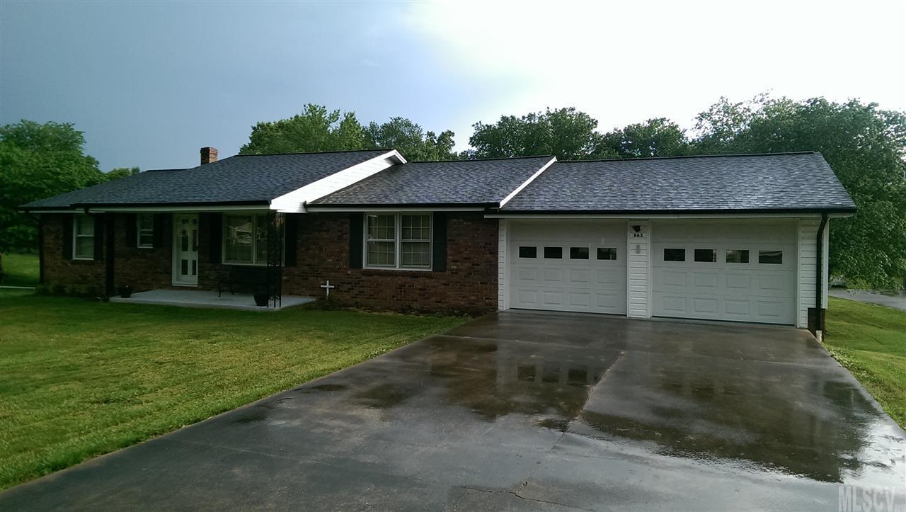 863 Sam Hefner Rd, Taylorsville, NC 28681