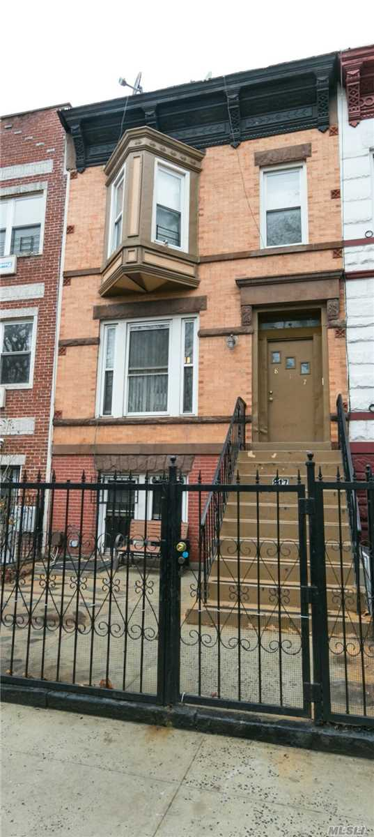 817 Halsey St, Bedford-Stuyvesant in Brooklyn County, NY 11233 Home for Sale