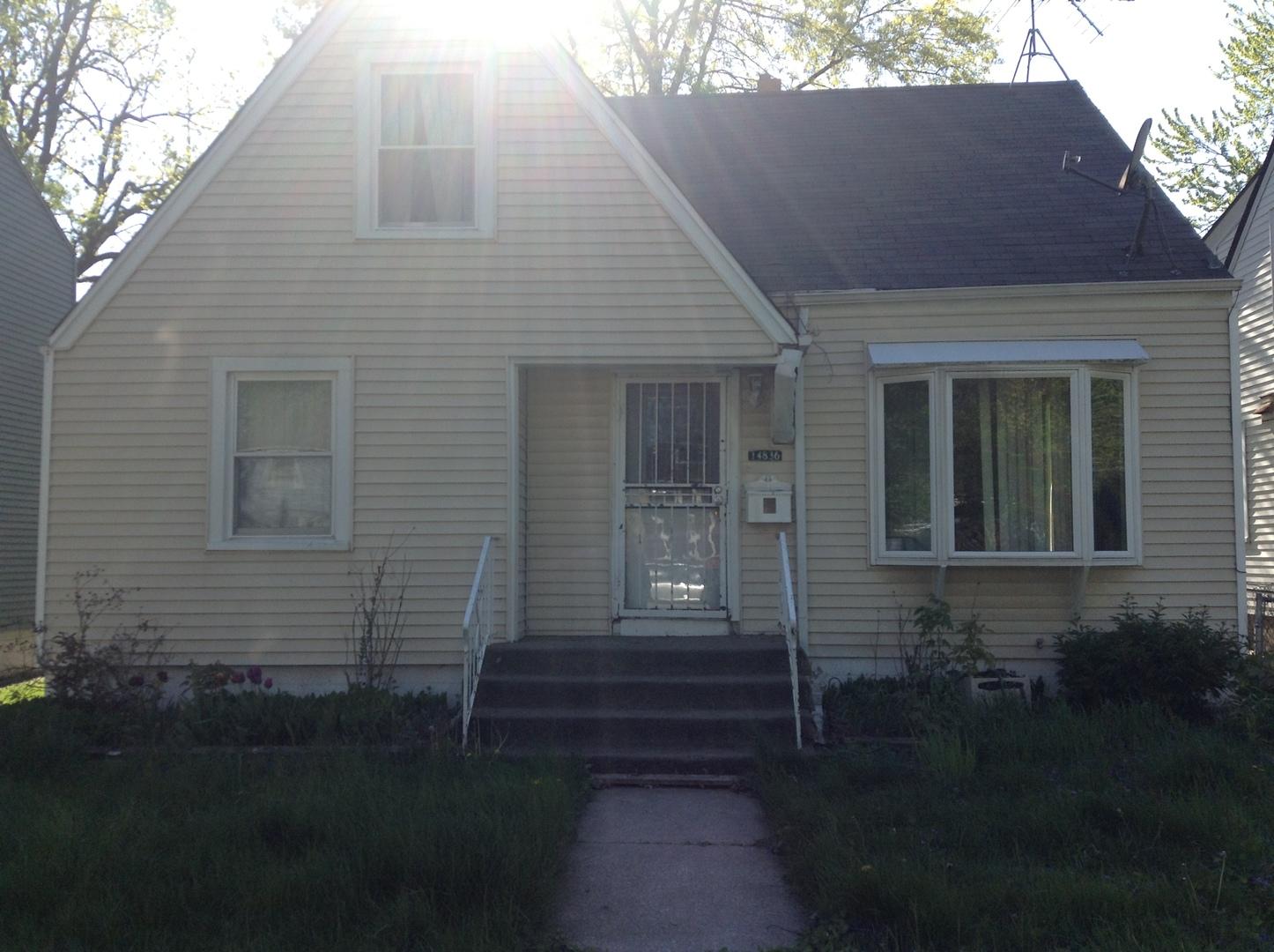 Photo of 14836 Grant Street  DOLTON  IL