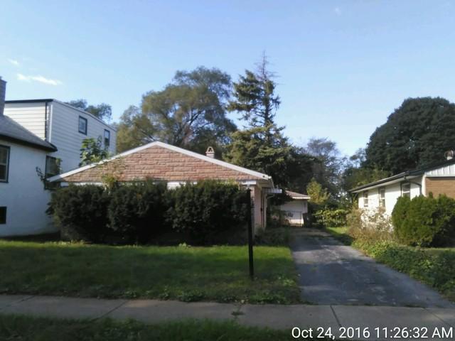Photo of 16638 Wolcott Avenue  MARKHAM  IL