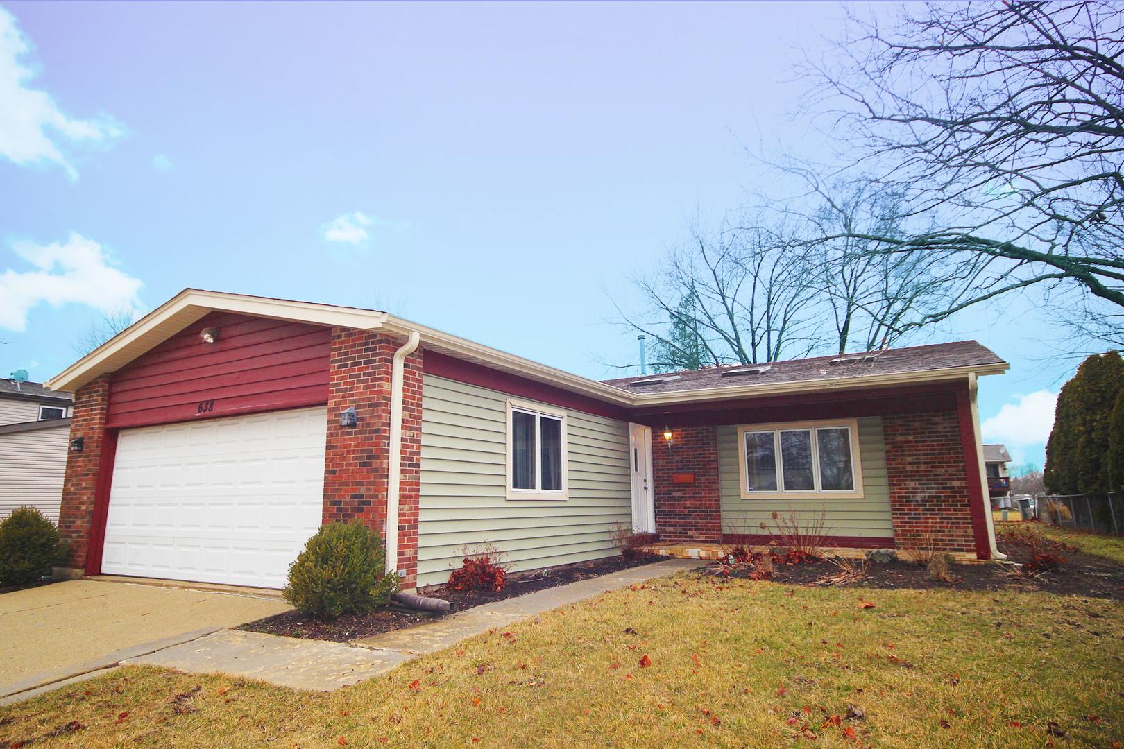 638 HINGHAM Lane, Schaumburg, Illinois