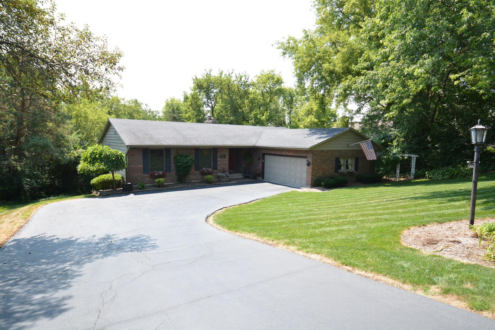 1045 Zange Drive, Algonquin in Mc Henry County, IL 60102 Home for Sale