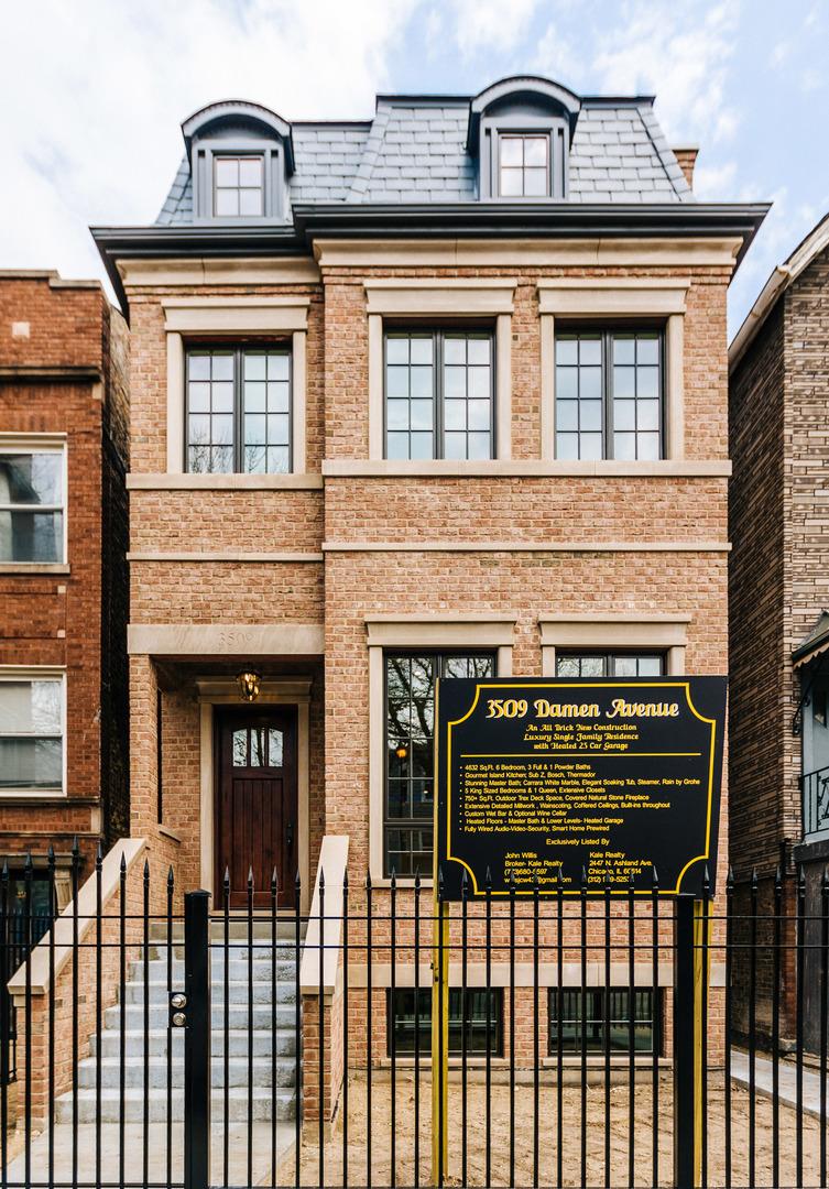 3509 North Damen Avenue Chicago, IL 60618