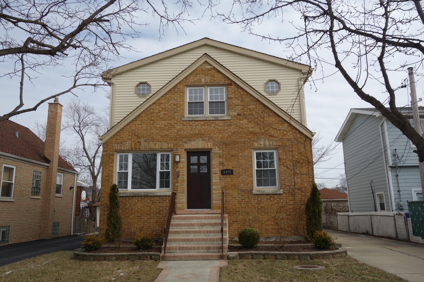 3415 North Odell Avenue Chicago, IL 60634