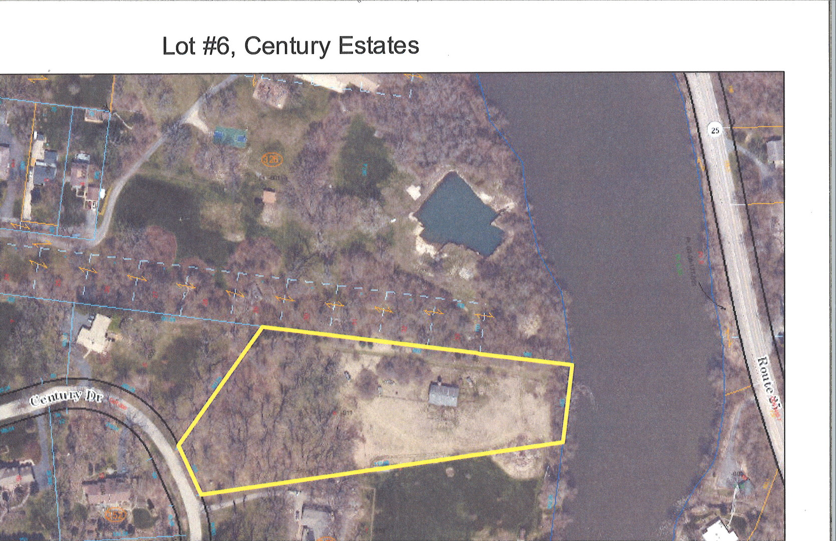 One of Oswego Homes for Sale at Lot 6 Century Drive