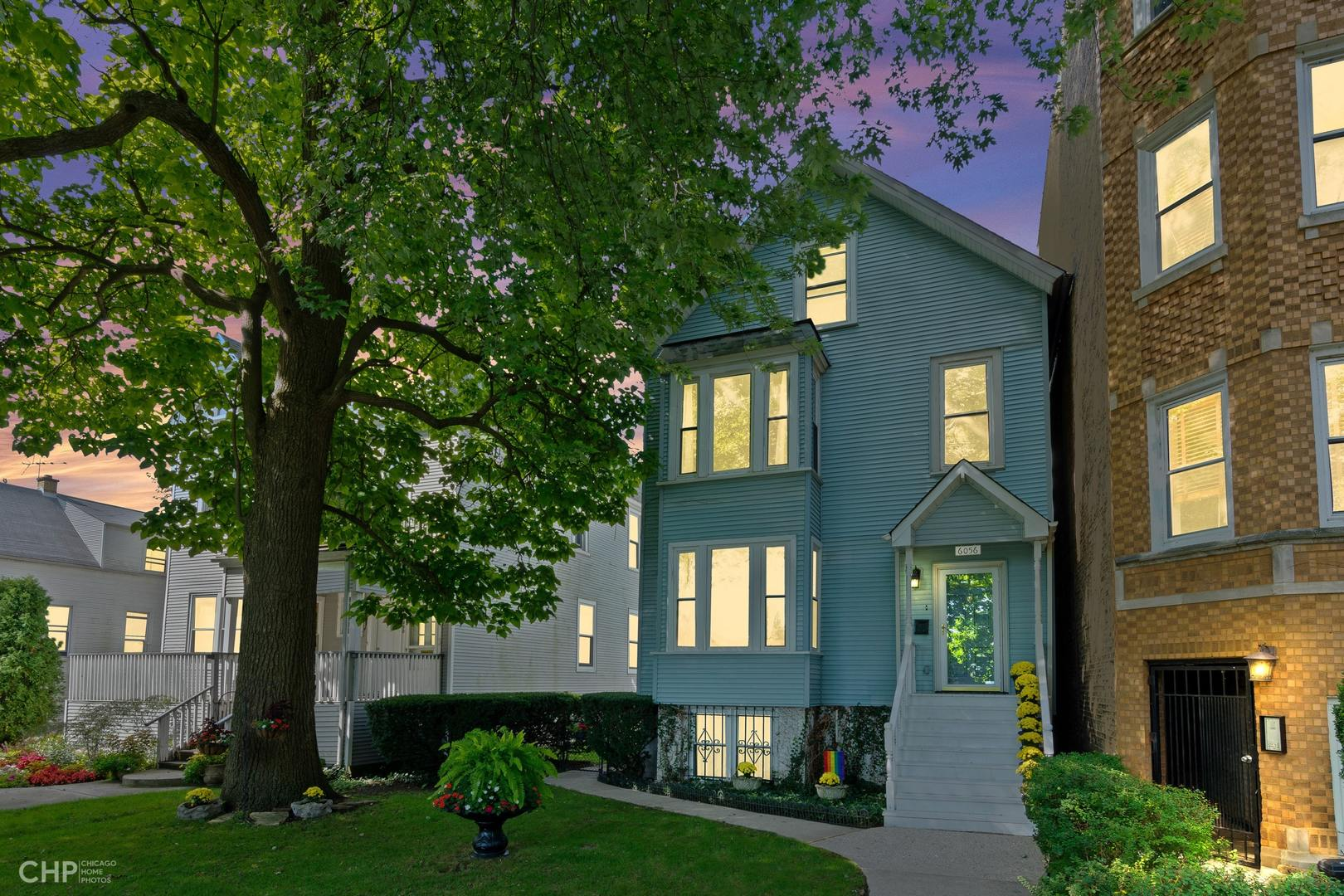 6056 North Paulina Street, one of homes for sale in Rogers Park
