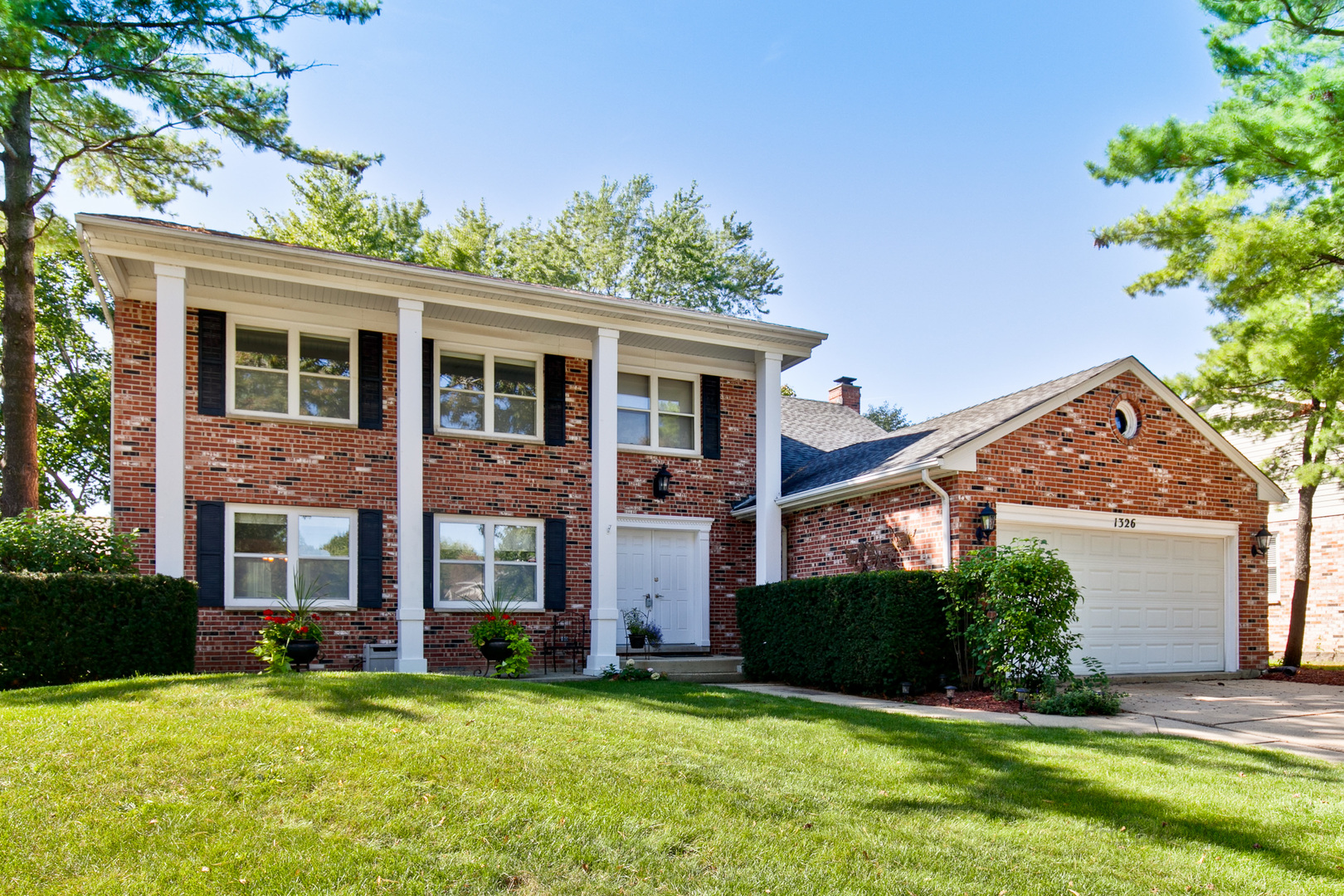 One of Buffalo Grove 4 Bedroom Homes for Sale at 1326 Rose Court West