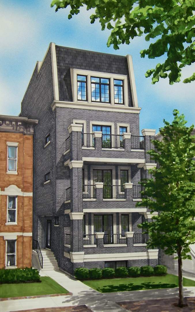One of Chicago-Near West Side 3 Bedroom Homes for Sale at 648 West Webster Avenue