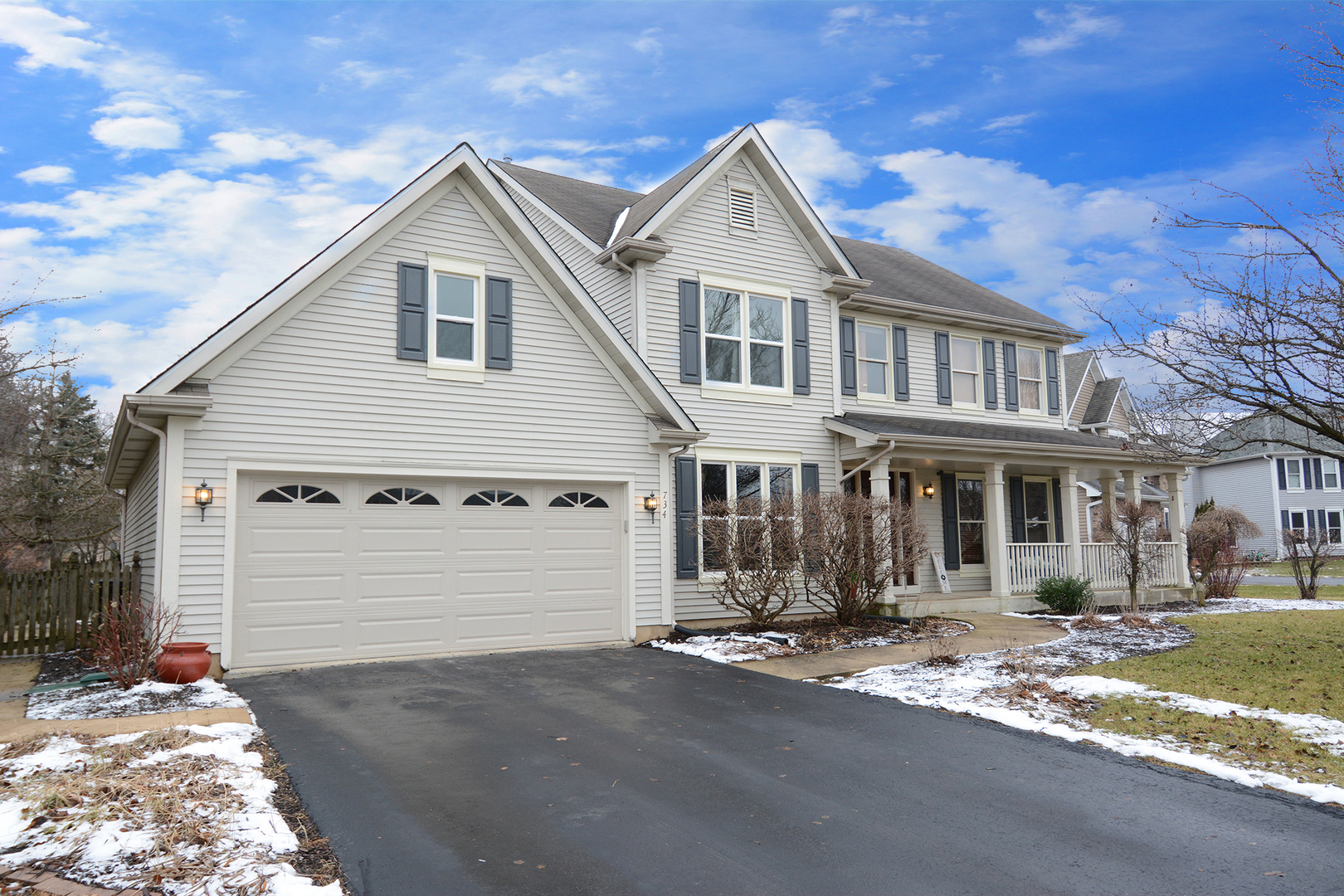 One of Aurora North 4 Bedroom Homes for Sale at 734 HARTFIELD Drive