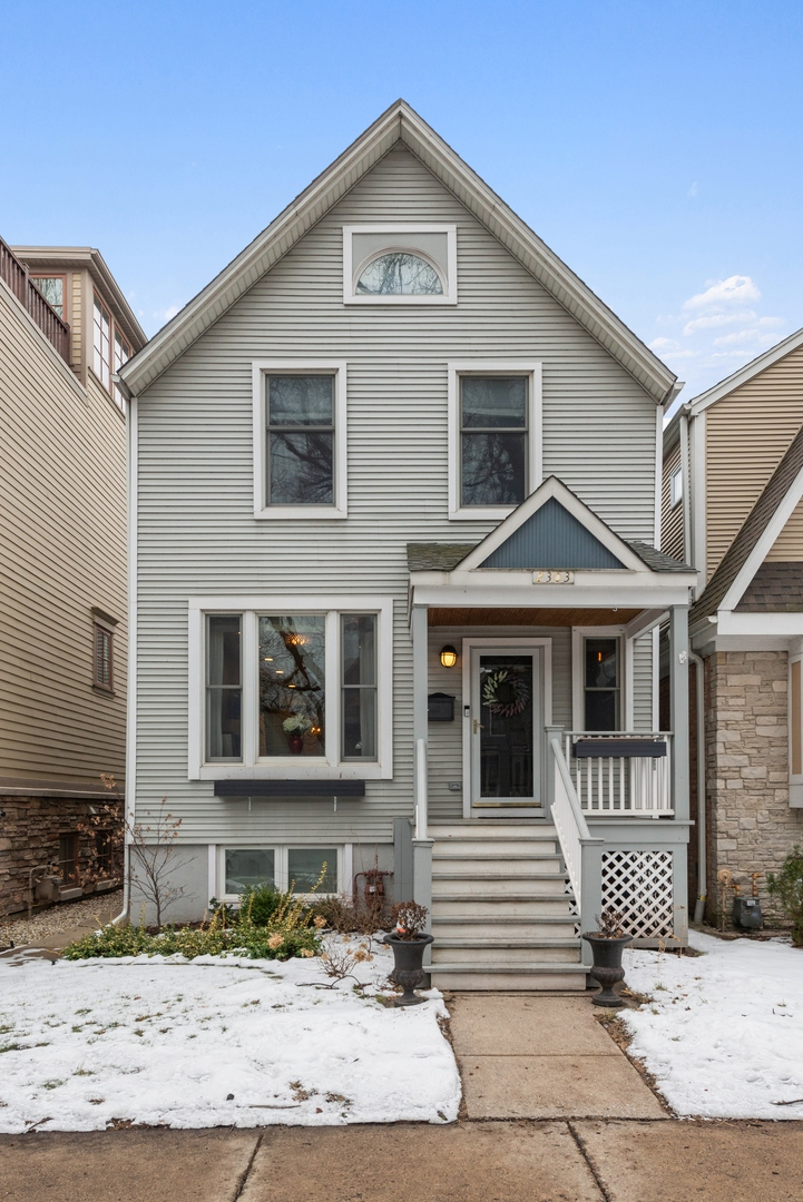 2303 West Cullom Avenue, Chicago North Center in Cook County, IL 60618 Home for Sale