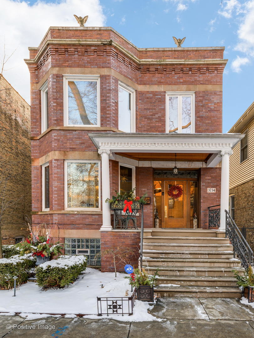 3734 North LEAVITT Street, Chicago North Center in Cook County, IL 60618 Home for Sale