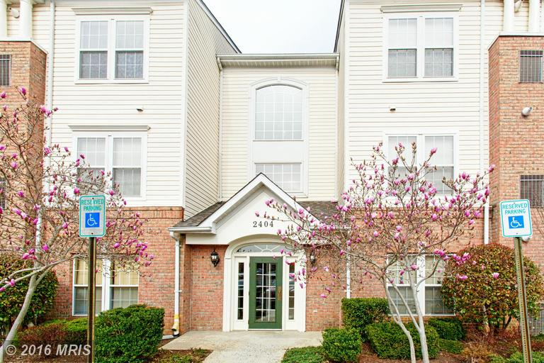 2404 CHESTNUT TERRACE COURT 203, Odenton in ANNE ARUNDEL County, MD 21113 Home for Sale