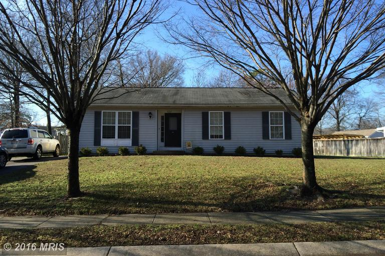 527 OAKTON ROAD, Odenton in ANNE ARUNDEL County, MD 21113 Home for Sale