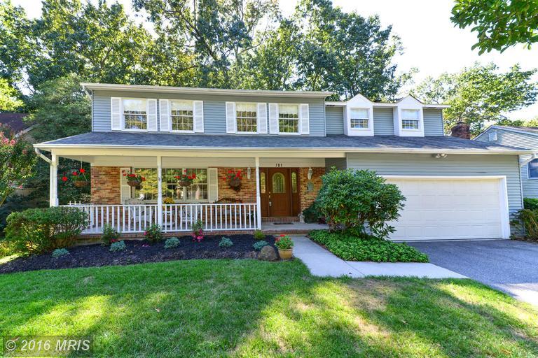 781 OAK STUMP DRIVE, Millersville in ANNE ARUNDEL County, MD 21108 Home for Sale