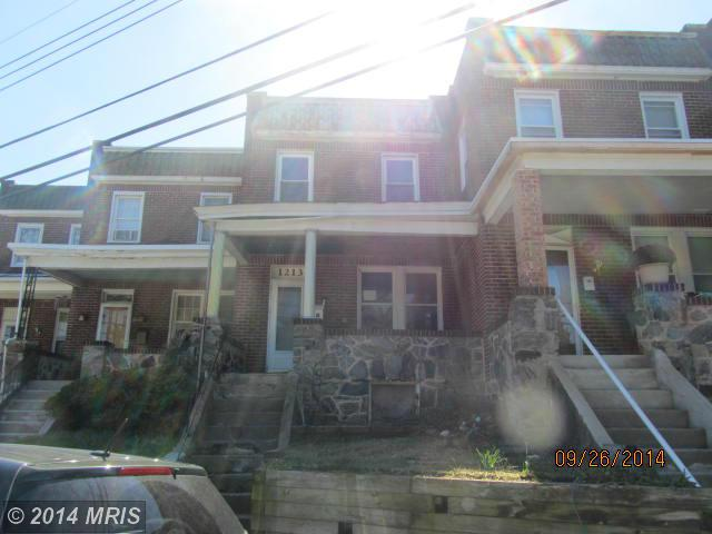 1213 W Old Cold Spring Ln, Baltimore, MD 21209