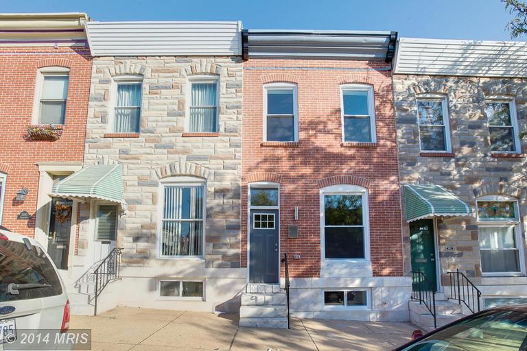 One of Fells Point 3 Bedroom Homes for Sale