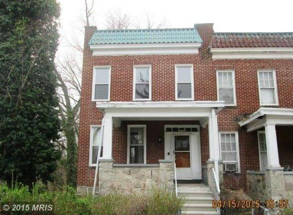 3100 Oakfield Ave, Baltimore, MD 21216
