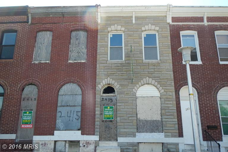 2413 E Eager St, Baltimore, MD 21205