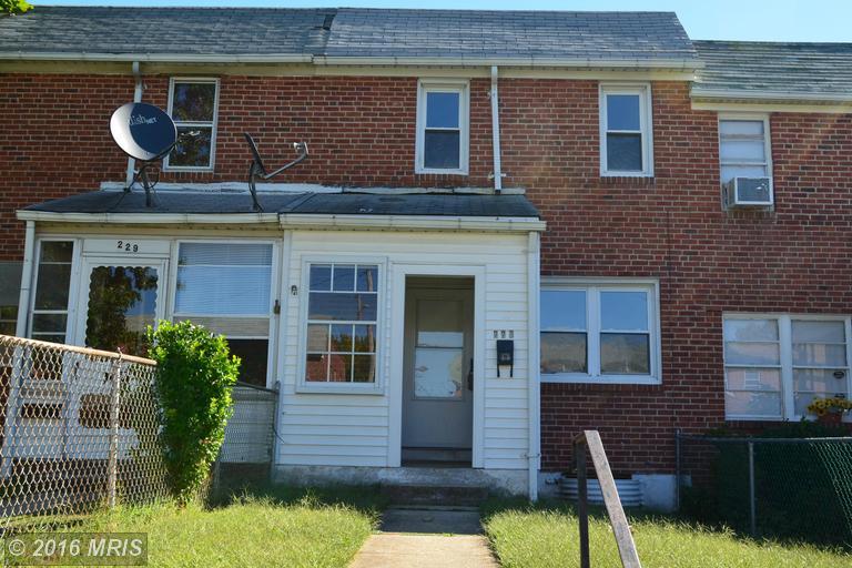227 Endsleigh Ave, Baltimore, MD 21220