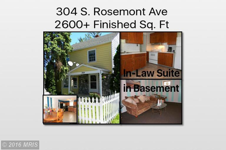 304 S Rosemont Ave, Martinsburg, WV 25401
