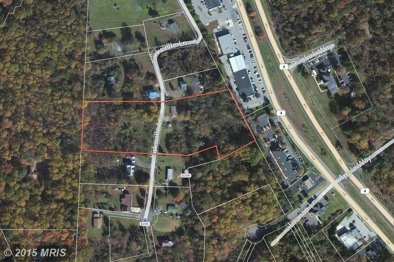 5.54 acres Dunkirk, MD