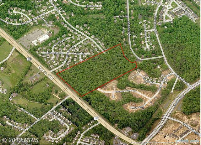 Image of Acreage for Sale near Waldorf, Maryland, in Charles county: 22.04 acres