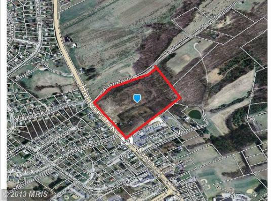 16.7 acres in Lineboro, Maryland