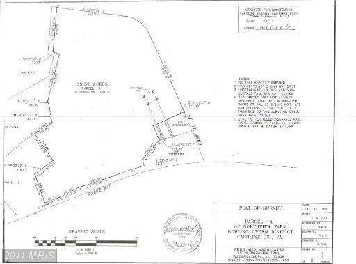 40 acres Bowling Green, VA
